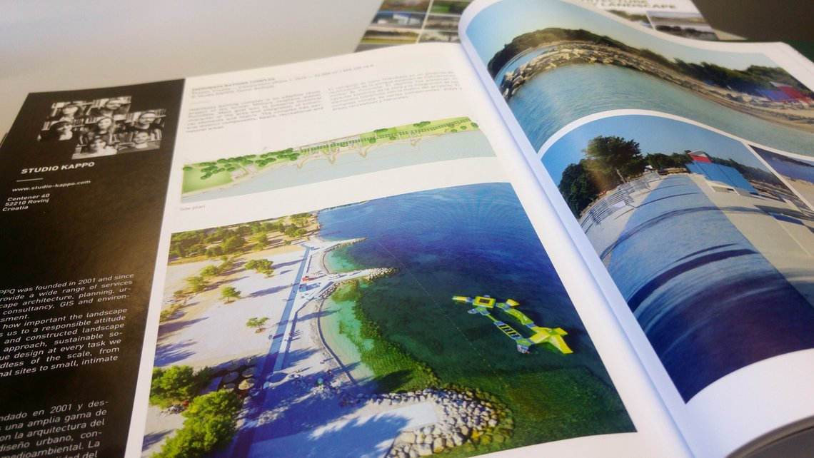 "Our projects published at ""Architecture today LANDSCAPE"" book"